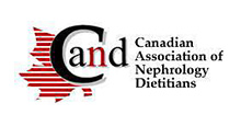logo Canadian association of nephrology dietetician