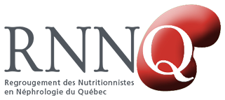 RNNQ Logo - Regroupement des Nutritionnistes en Néphrologie du Québec