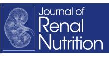 logo Journal of Renal Nutrition