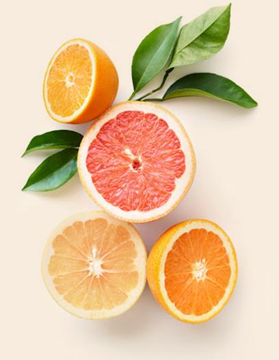 Oranges et pamplemousses